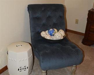 Accent Chair, Home Decor, Ceramic Stand, Home Decor