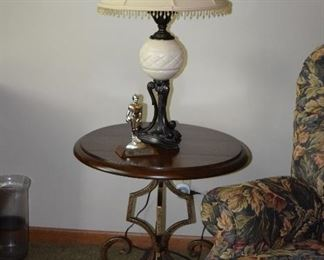 Table Lamp, Side Table