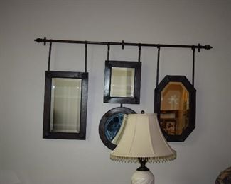 Mirrors, Wall Hanging Rod