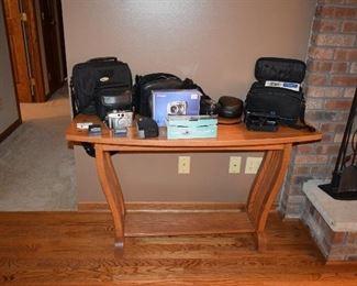 Sofa Table, Camera, Photography Supplies