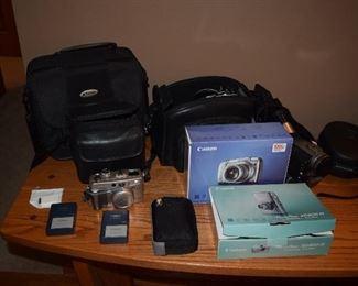 Canon Camera, Photography Supplies