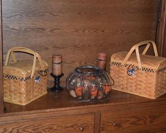 Picnic Baskets, Seasonal Decor