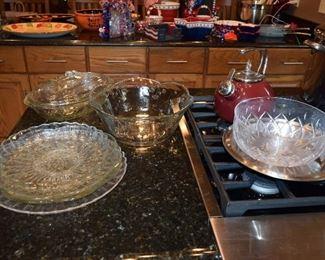 Serving Bowls, Platters