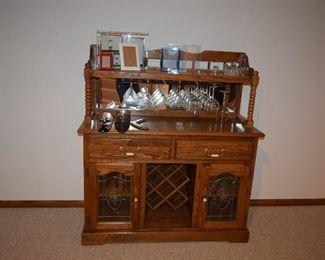 Portable Bar, Stemware