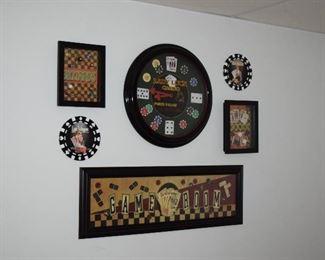 Game Room Wall Art
