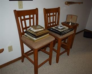 Dining Chairs, Photo Frames, Accent Table,