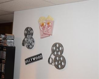 Wall Art, DVD's, CD's