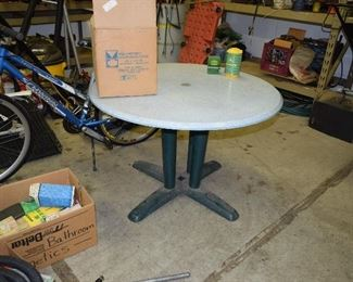 Table, Garage Items