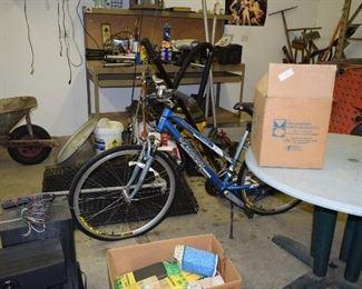 Women's Schwinn Bicycle, Garage Items
