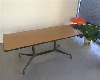 Eames Aluminum Group Table