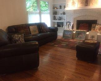 Divanni Italian Leather sofa