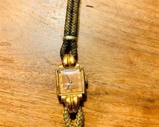 18k gold vintage watch