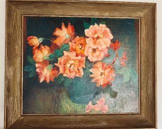 Marie Hull original art