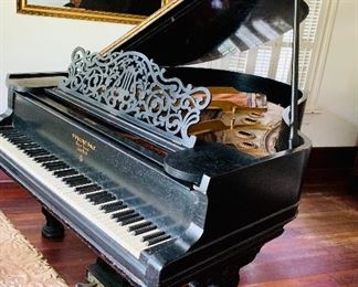 Steinway and sons antique piano.