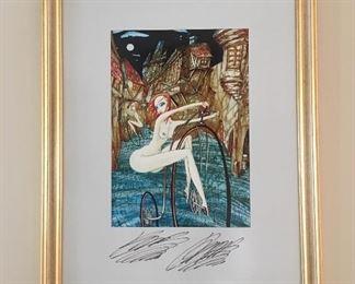 Original watercolor (signature illegible)