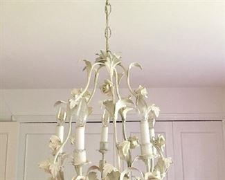 Tile vintage chandelier (2)