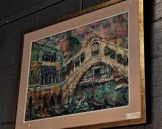 Original Painting by Harry Zee Hoffman