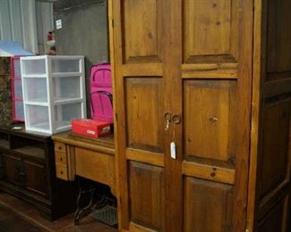 armoire, TV cabinet, storage, luggage