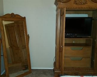 Another view of part of bedroom set. (TV is NOT included.)