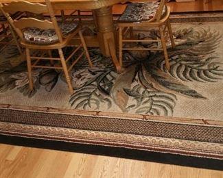 8' x 11' Area rug $40