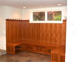 Mudroom Cabinets $600