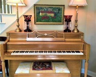 Storey & Clark Spinet Piano