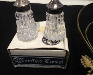 Antique Oil Lamp and Waterford Crystal https://ctbids.com/#!/description/share/161857