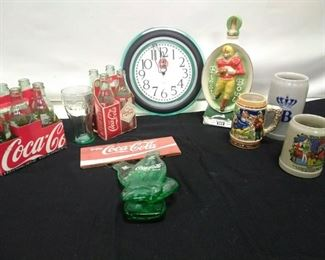 Coke and Beer Stein Lot    https://ctbids.com/#!/description/share/161872