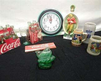 Coke and Beer Stein Lot    https://ctbids.com/#!/description/share/161872