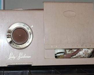 Vintage Lady Sunbeam hair dryer