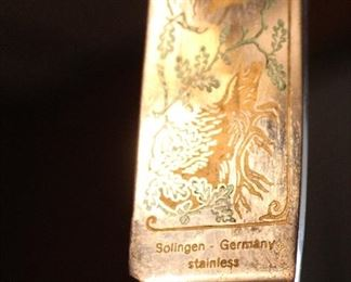 Solingen Germany carving set
