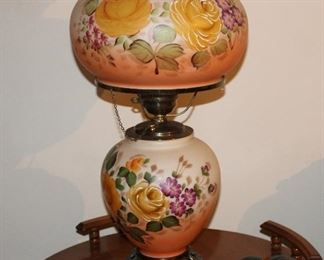 Vintage Gone with the Wind lamp