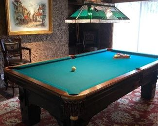 Pool Table (Solid slate)