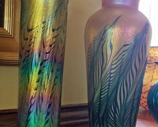 Lundberg Studio Glass Vases
