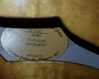 The Heritage Guitar Label