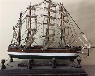 19th century Clipper ship