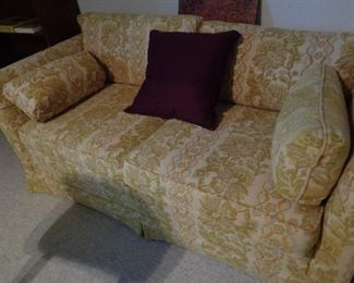 loveseat/has matching sofa