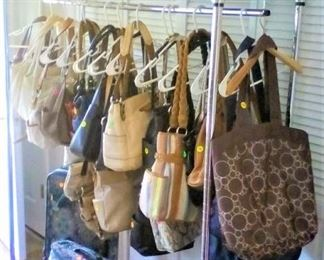 Purses, Clothes Rack, Luggage Sewing Kit, Knitting