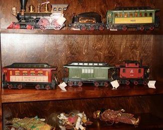 Jim Beam train car decanters