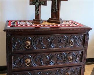 Spanish style chest