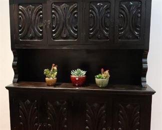 Spanish style cabinet