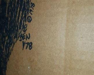 Art on Cardboard Signature