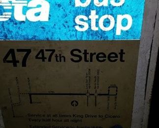 47th Street Bus Stop City of Chicago