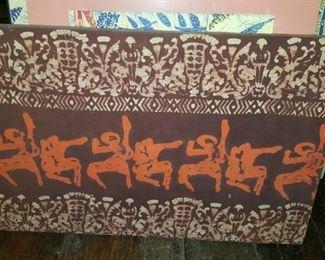 Textile Framed