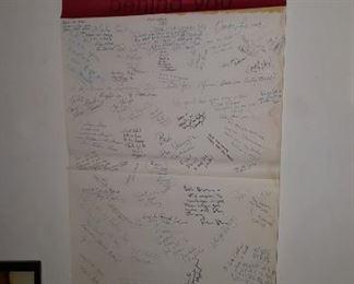 Bob Brown Support letter/signaures
