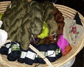 Yarn wool & Cotton