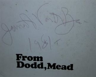 Signed James Van Der Zee