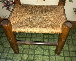 Vintage footstool.