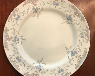 """Large 120 piece set Imperial China by Dalton, """"Seville""""."""