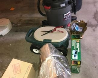 A few garage/basement items.
